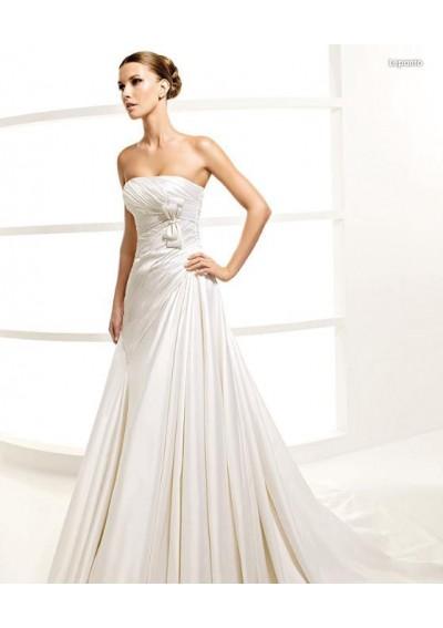 Brautkleider Mode Online: La Sposa Spanisches Designer Brautkleider