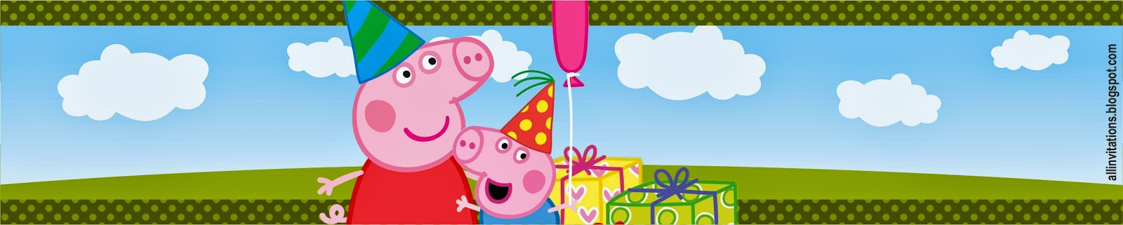 Kit Imprimible Peppa Pig | All Invitations