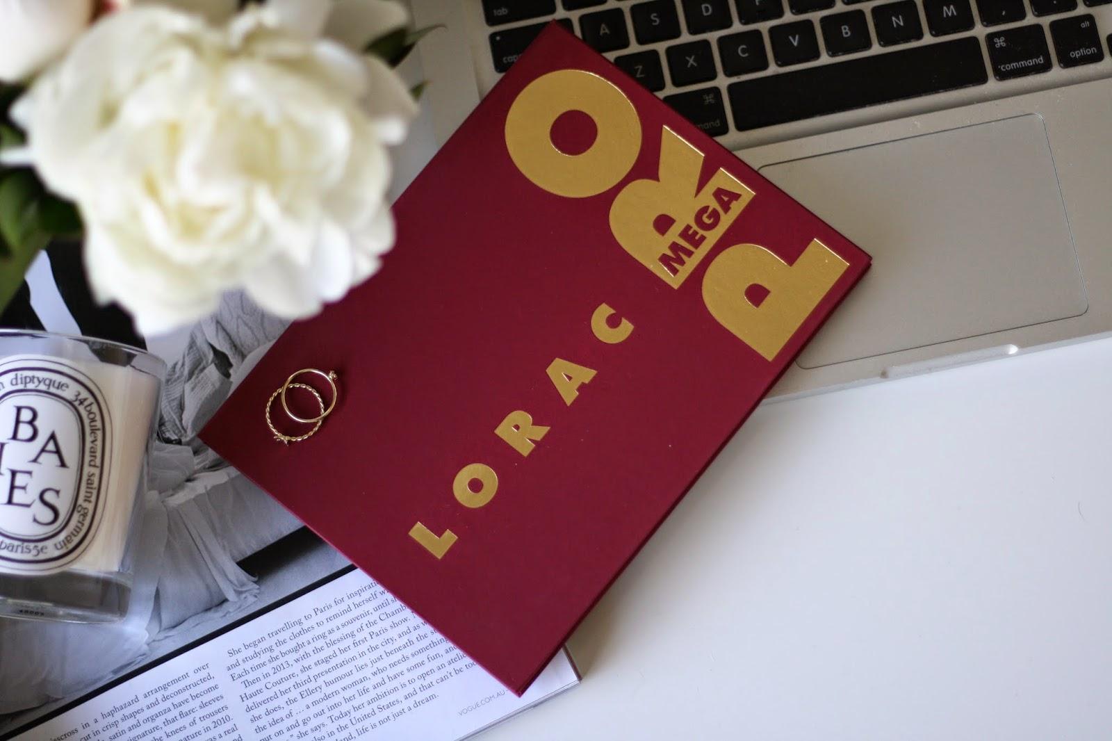 Lorac Mega Pro Palette, Swatches, Beauty Blogger, Lorac Pro