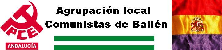 Agrupación local Comunistas de  Bailén