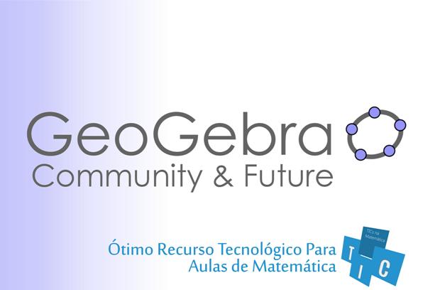 Software GeoGebra - recurso tecnológico para aulas de Matemática