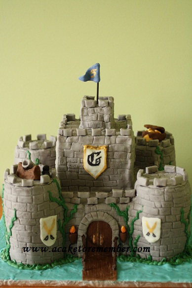 Towers for Castle Cakes Redo