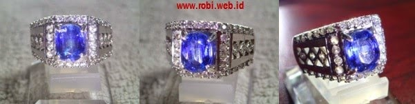 Kyanite-violetish blue