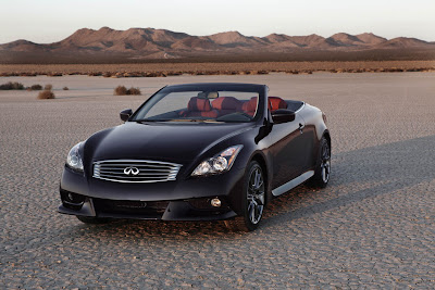 2013 Infiniti IPL G Convertible priced from $60,600*