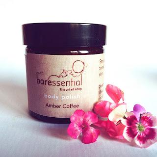 Baressential Organic Body Scrub Amber Coffee
