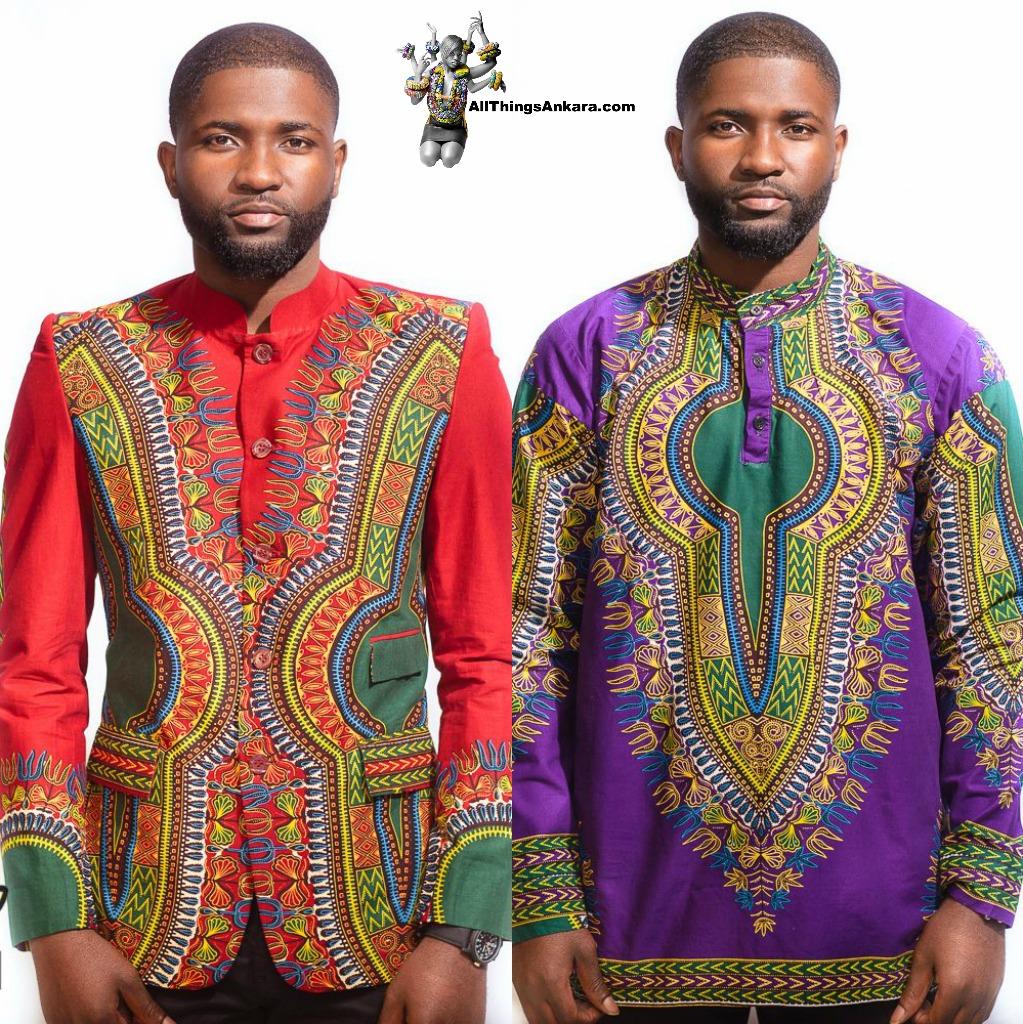 All Things Ankara: Menswear: Tinz Clothing Dashiki Shirt Fall 2014 ...