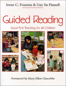 fountas and pinnell guided reading lesson plan format