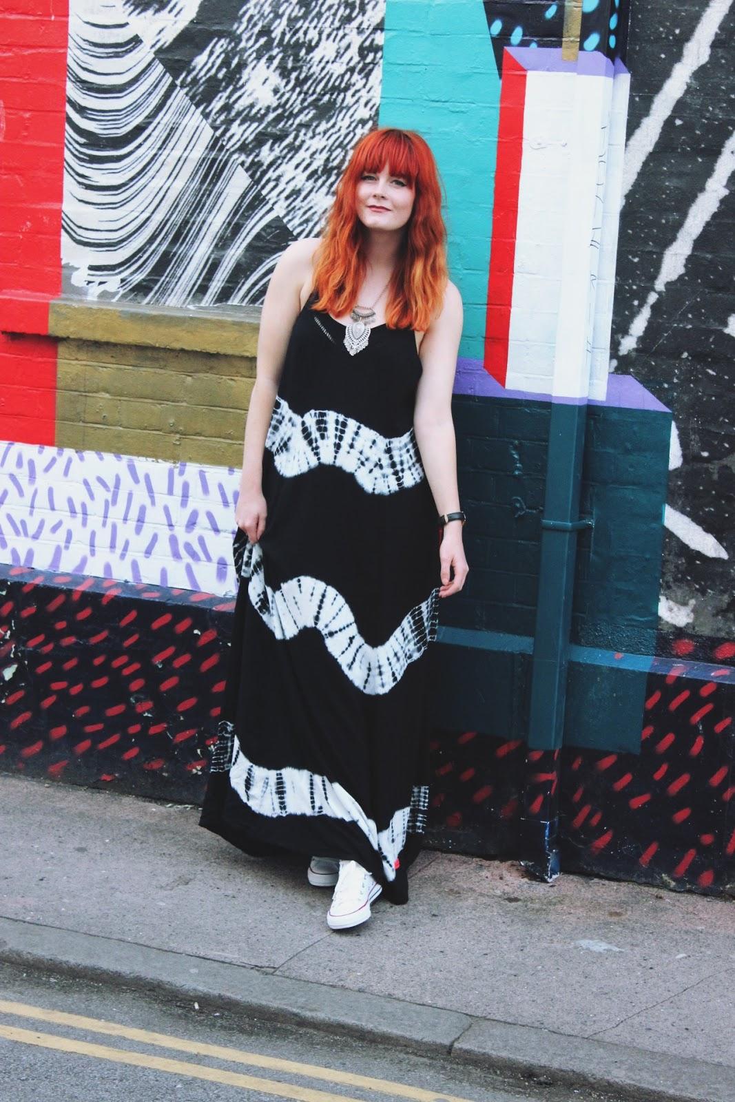 Superdry Tie Dye Maxi Dress