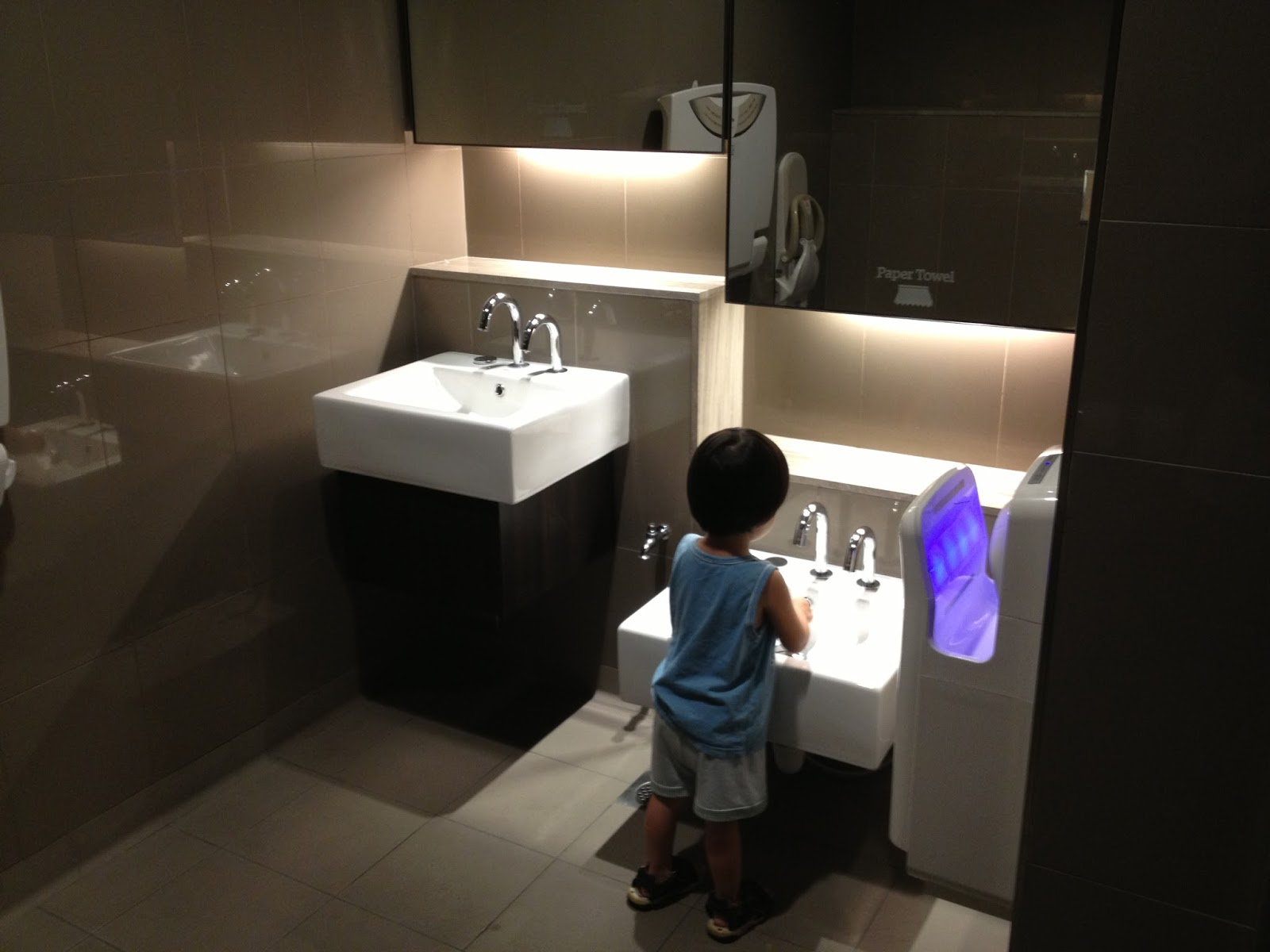 Clearjaded Family Bathroom At Jem Jurong East Mall