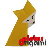 Cara Membuat Origami Serigala