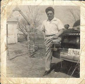 Mi padre en Estados Unidos en 1962