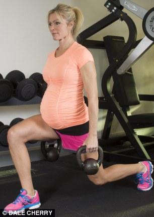 Nell McAndrew pregnant