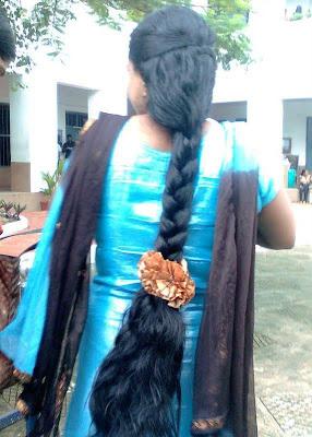 long hair photography