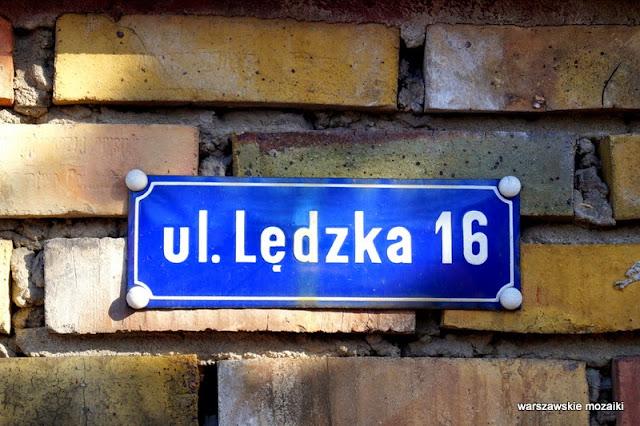Warszawa Wola ulice Warszawy