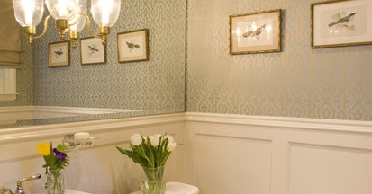 Traditional Powder Room