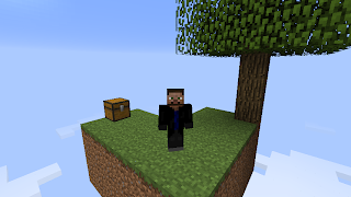 Skyblock companion SkyBlock 1.6.4 Survival Map Minecraft 1.6.4/1.6.2