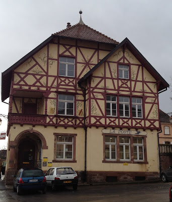 Riquewihr post office, France