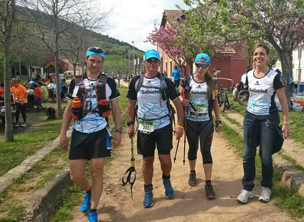 Mi equipo en la Trailwalker 2015