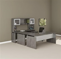 MNT39 Medina U Desk by Mayline