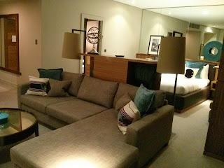 Hotel upgrade
