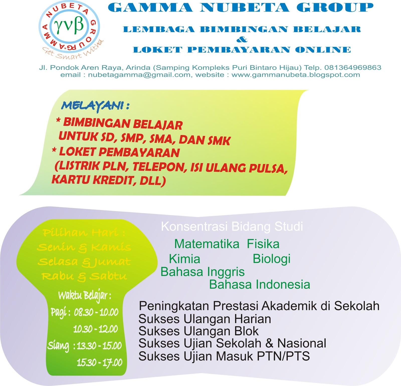 Gamma Nubeta Program Lbb Gamma Nubeta