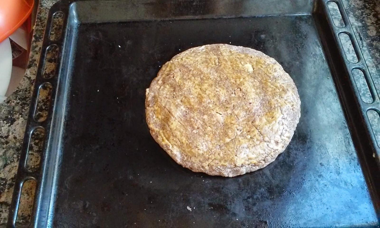 torta de nueces horneada