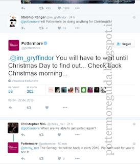 Tweet del 22 dicembre 2015