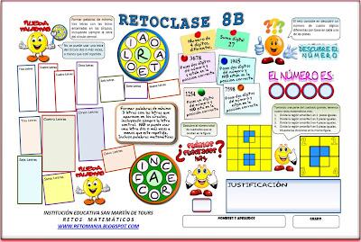 Retos matemáticos, desafíos matemáticos, acertijos matemáticos, descubre el número, rueda palabras, Problemas Matemáticos, jugando con letras, descubre las palabras, palabras ocultas, formando palabras, problemas de lógica, problemas de ingenio matemático, cuadrados, cuántos cuadrados hay, cómo dividir en partes iguales