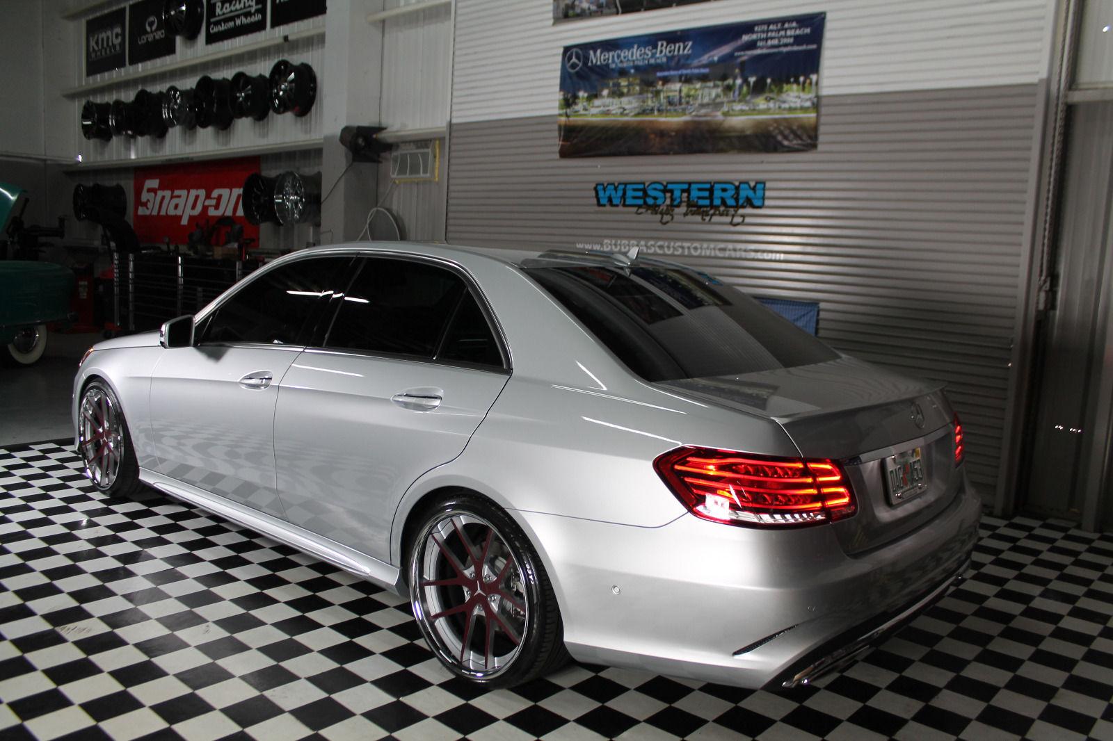2014 mercedes benz w212 e350 cor wheels benztuning for Mercedes benz customized