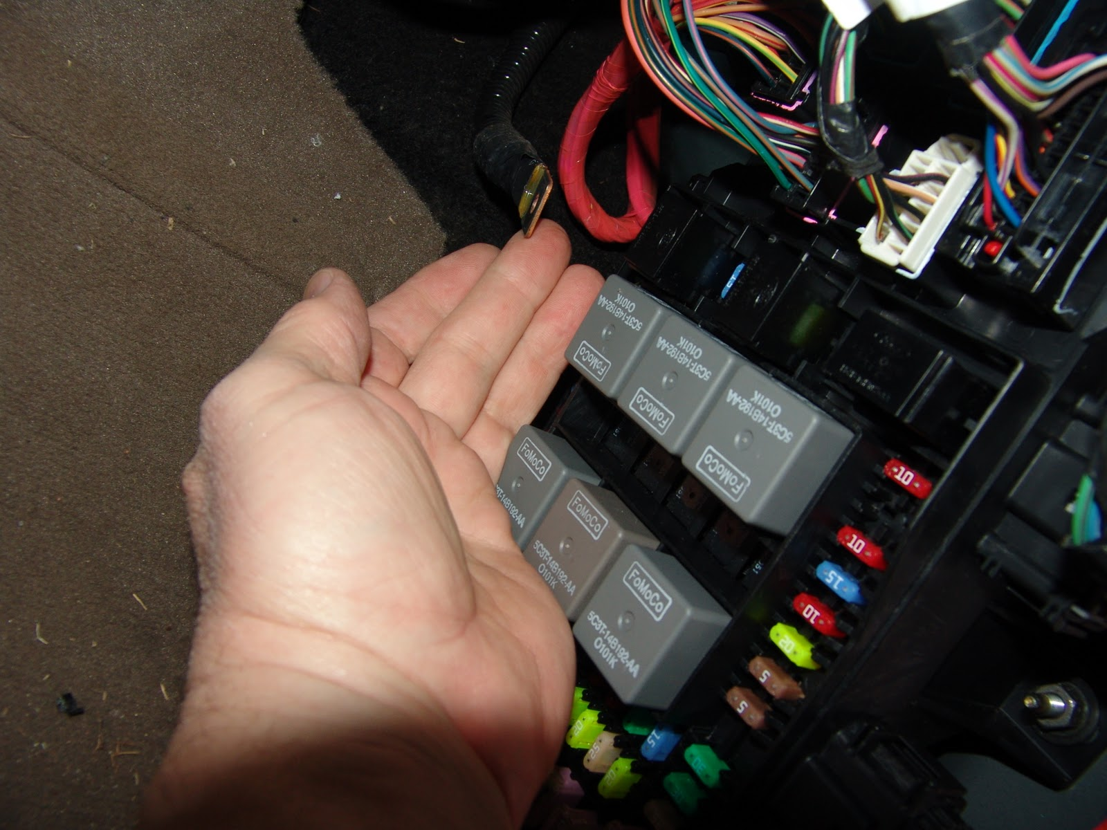 Brake Pedal Goes To The Floor in addition Ford Fiesta moreover Porsche Paint Codes 1 Photograph Exquisite Code Label Located The Spare Tire Area 7 likewise Ford Ranger 1998 Under Dash Fuse Boxblock Circuit Breaker Diagram furthermore 6fiwx Ford Escape Limited Not Starting Shifting Reverse. on 2002 windstar fuse box diagram