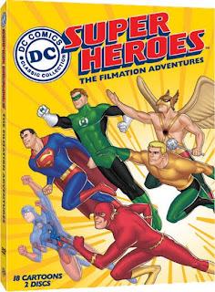 DC COMICS SUPERHEROES - LAS AVENTURAS DE FILMATION (1967)