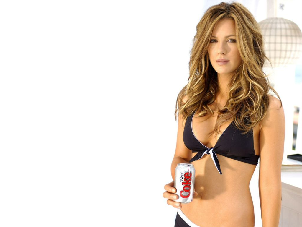 Kate Beckinsale Modeling For Coka Cola
