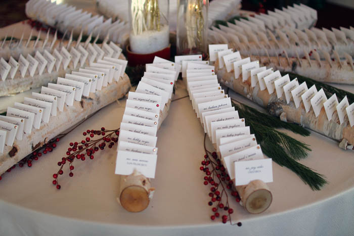 style blogger wentworth by the sea, boston style blog, graphic design, birch logs escort cards