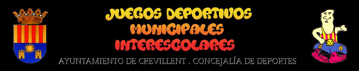 JUEGOS DEPORTIVOS MUNICIPALES CREVILLENT