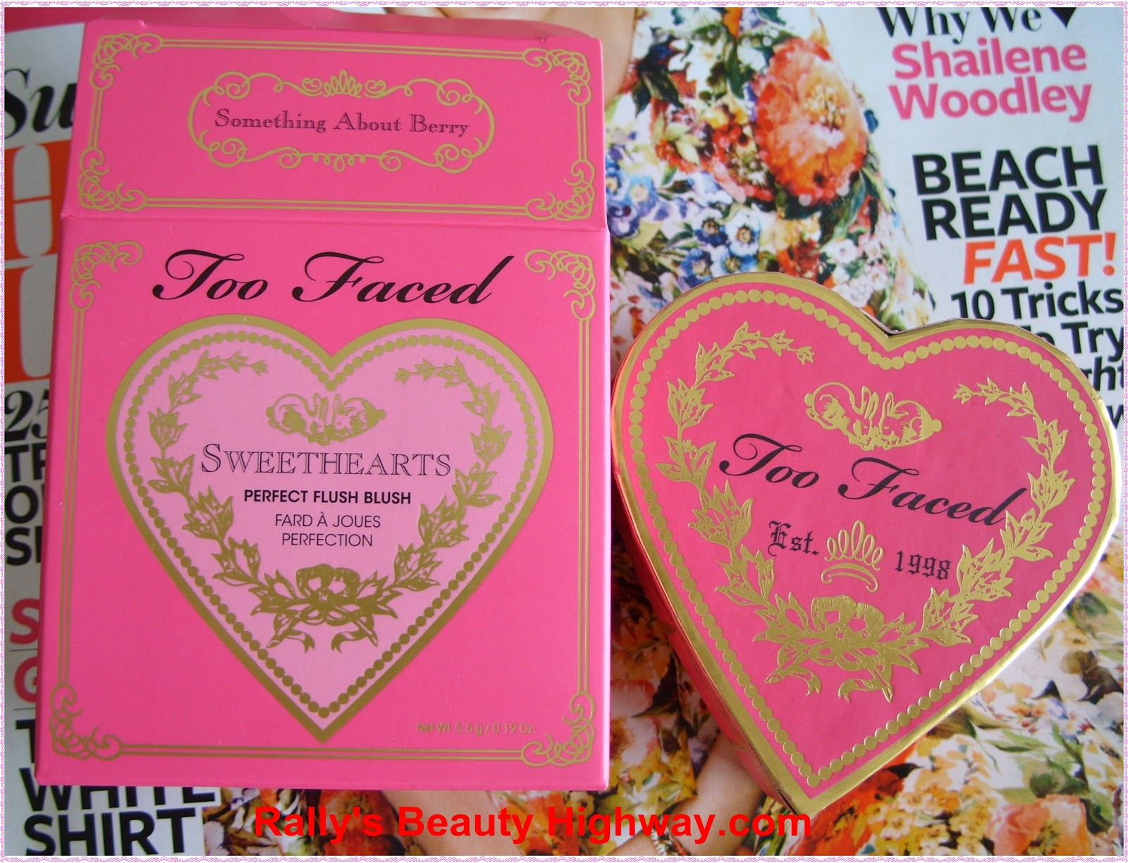 Too Faced, Blush