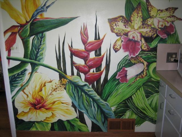 The Talking Walls A Mural at Home