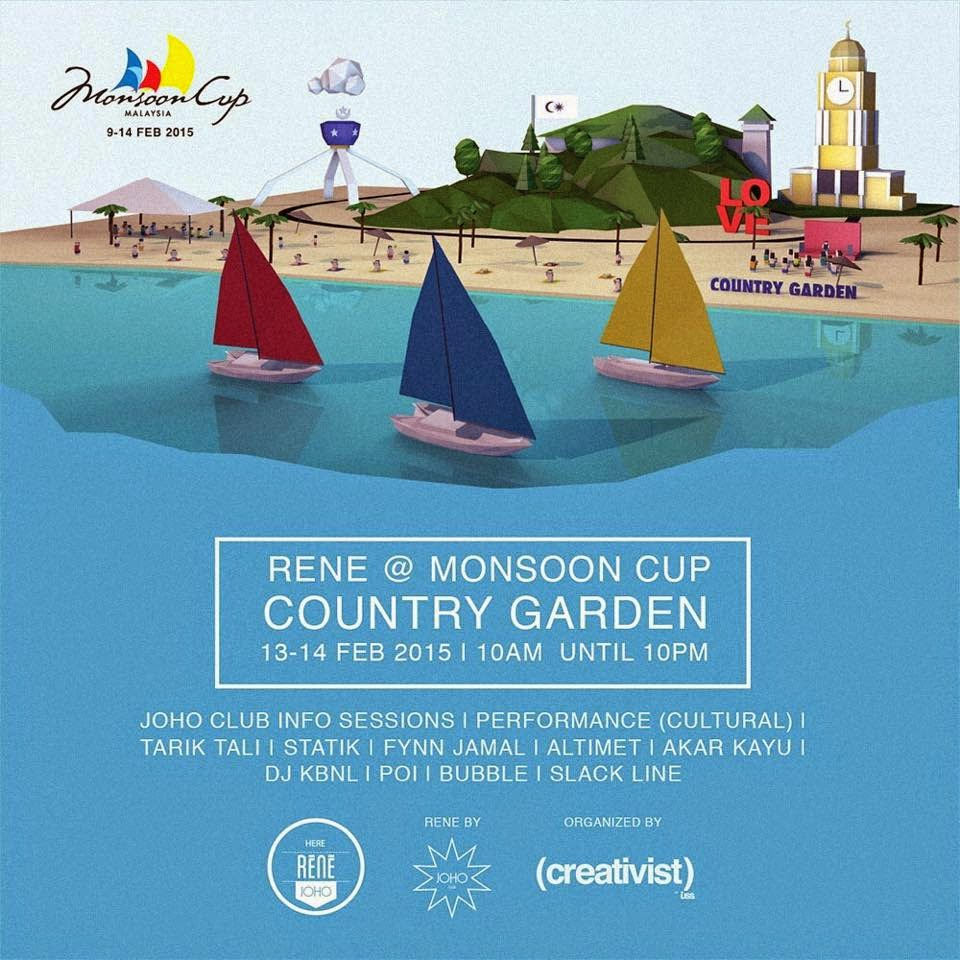 Monsoon Cup country garden danga bay