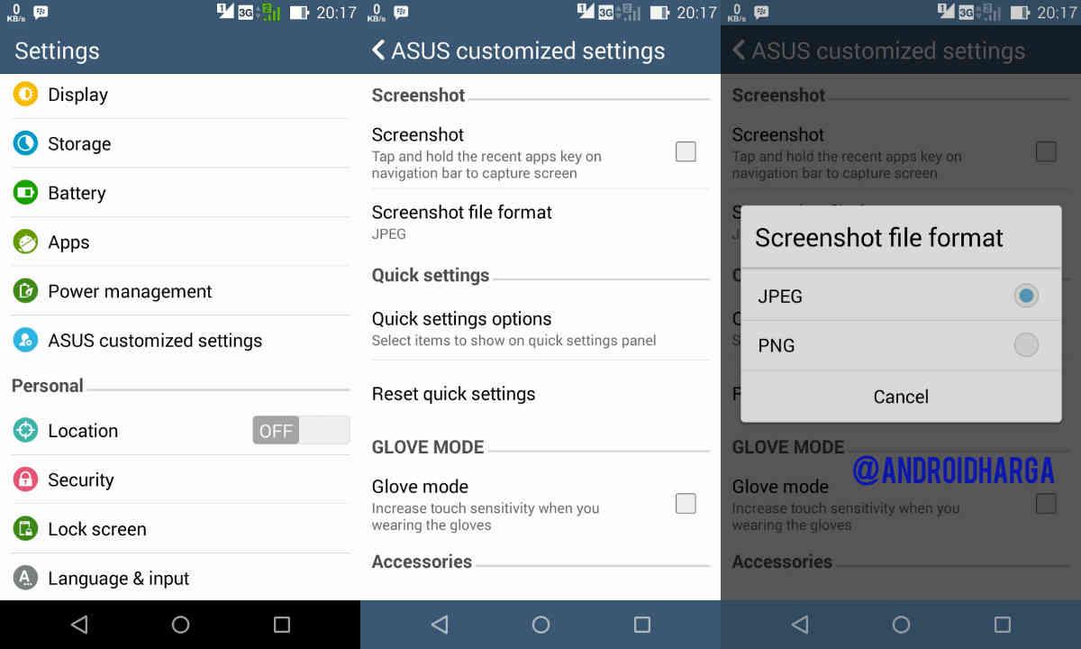 Cara Screenshot, Tangkap Gambar & Mengambil Gambar di Android Zenfone 6
