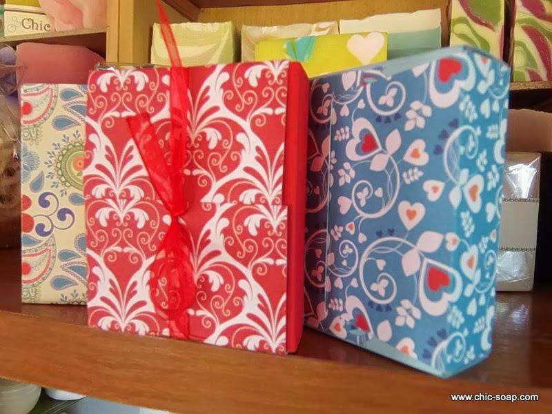 Cajitas estampadas para tus regalos