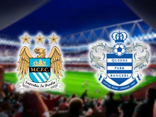ผลฟุตบอลพรีเมียร์ลีกอังกฤษ 1 ก.ย. 55 | แมนเชสเตอร์ ซิตี 3 - 1 ควีนปาร์ค เรนเจอร์ส