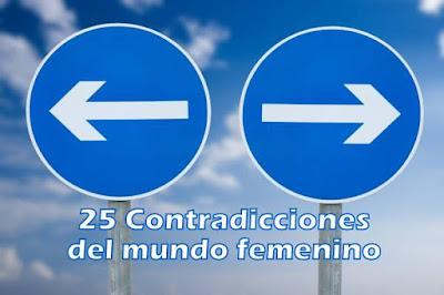 25 Contradicciones del mundo femenino