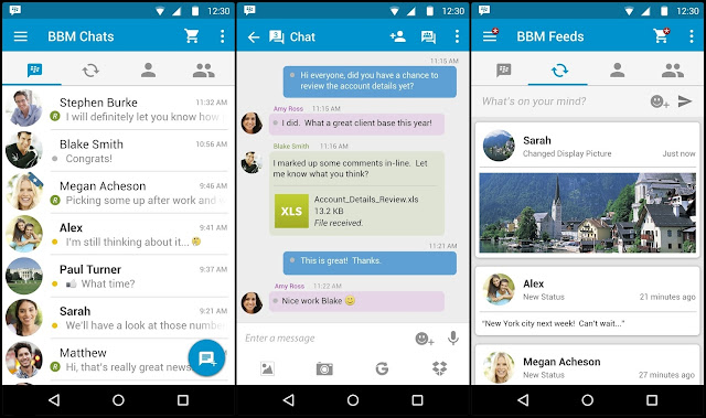BBM Material Design For Android
