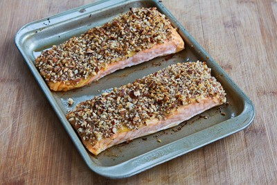Quick and Easy Pecan-Crusted Dijon Salmon - Kalyn's Kitchen