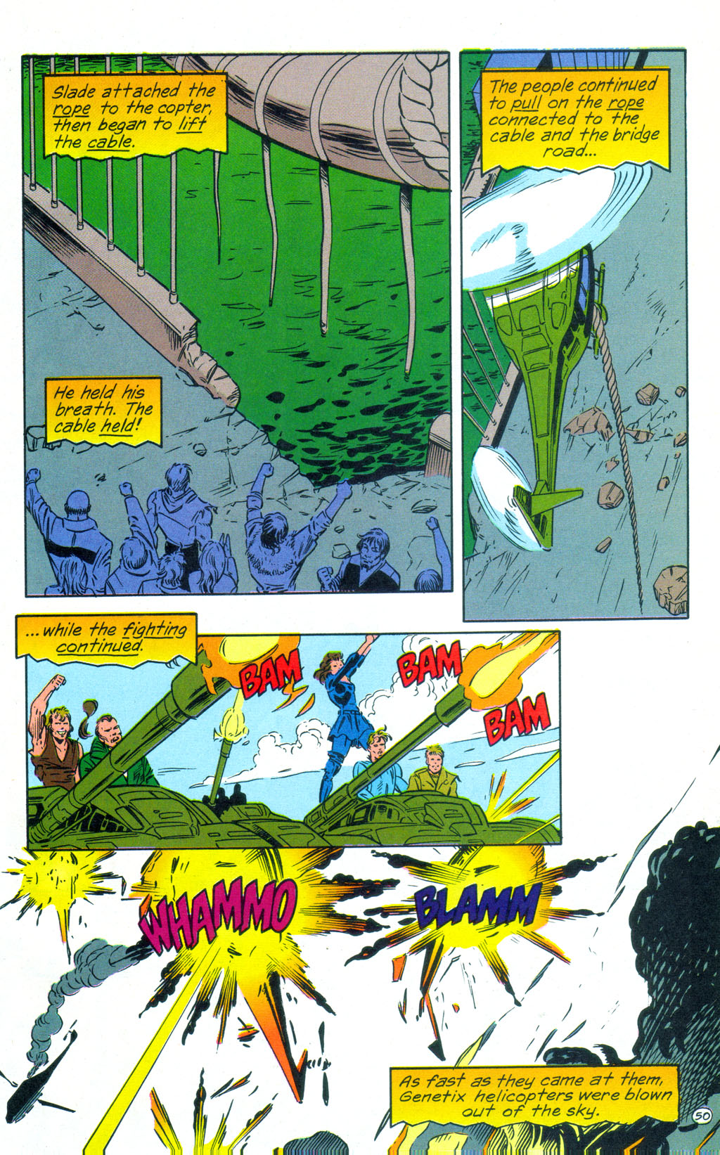 Deathstroke (1991) Annual 3 #3 - English 51