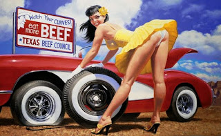 Mujeres Y Carros Cuadros Al Oleo