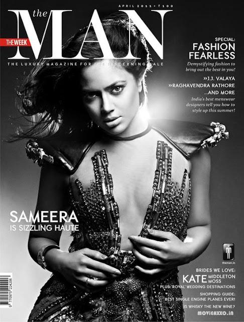 Sameera Reddy Hot Photoshoot for 'The Man' Magazine