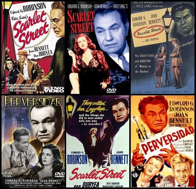 Perversidad, Fritz Lang, Scarlet Street
