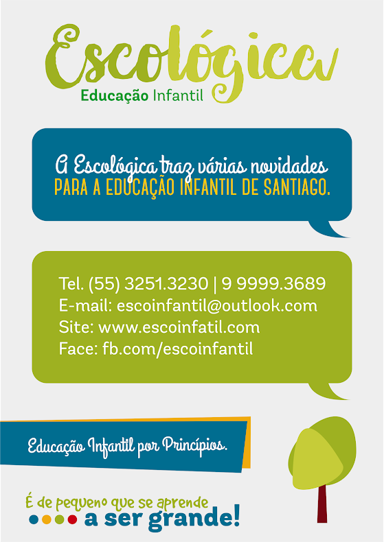 Educação Infantil é na Escológica!