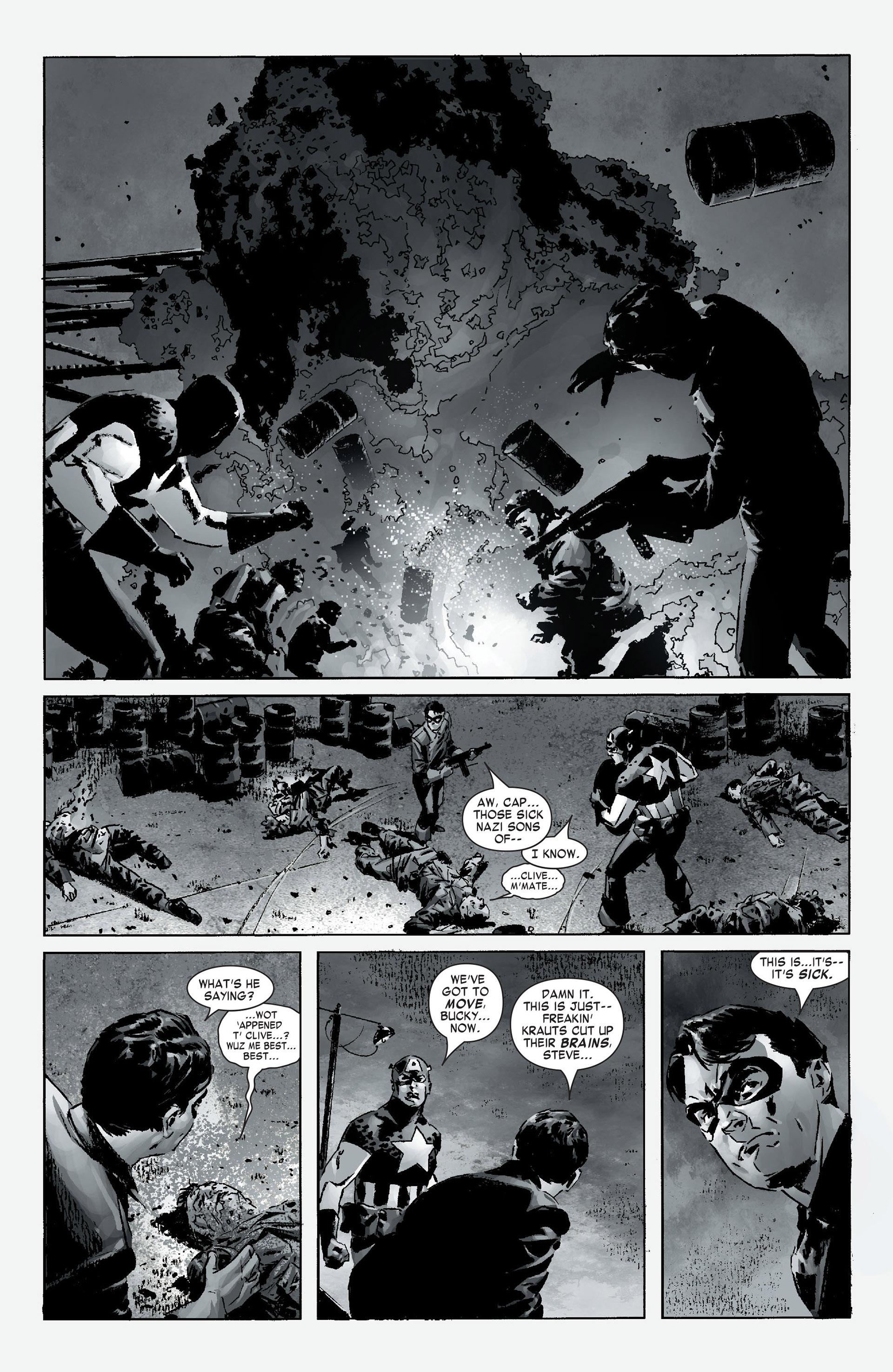 Captain America (2005) Issue #12 #12 - English 21