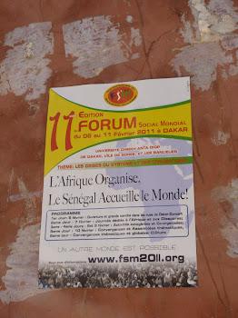 2011 世界社會論壇‧田野手札